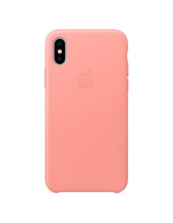 Чехол для iPhone Apple iPhone X Leather Case Soft Pink